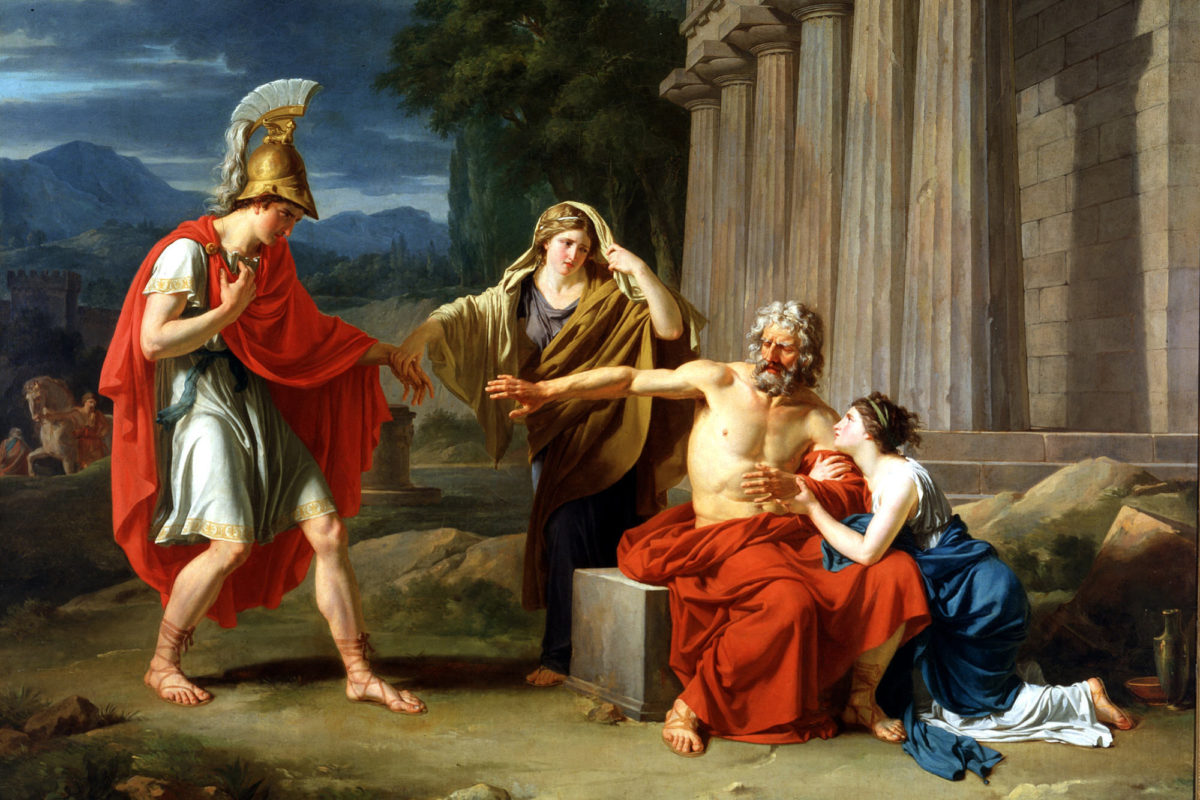 Oedipus rejects Polynices
